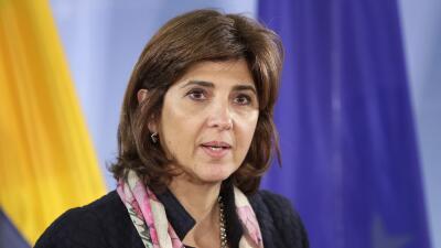 María Holguín, ministra de Exteriores de Colombia