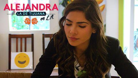 Capítulo 2 Alejandra la de Tijuana en L.A.: Así se prepara Alejandra par...
