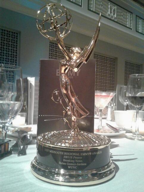 Univision 40 North Carolina recibe su primer Emmy en la historia IMG_035...