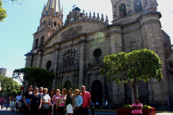 Primera parada: un paseo por el Centro Historico de Guadalajara.