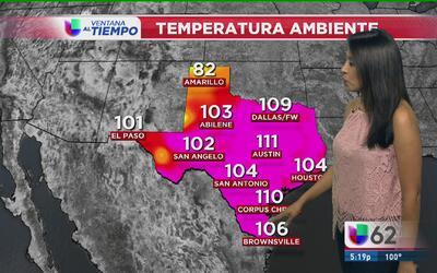 Activan advertencia de calor en la región de Austin
