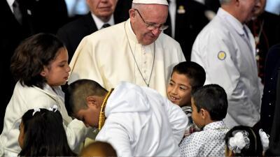 Papa Francisco México, Hospital