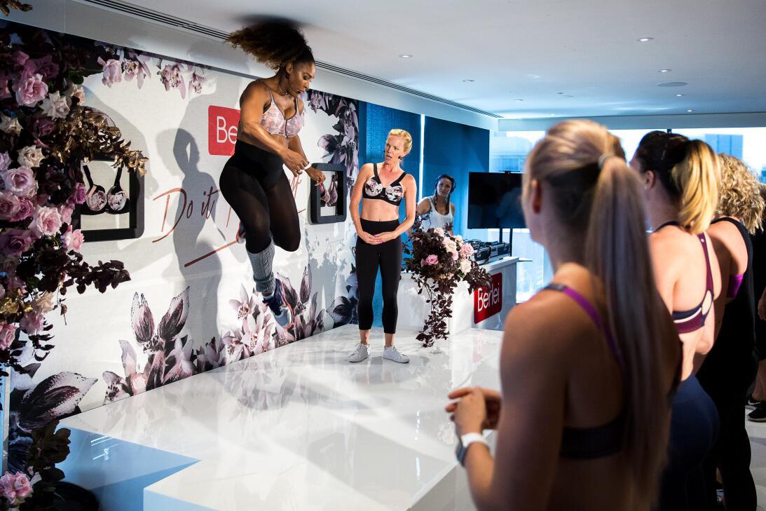 La faceta más femenina de Serena Williams en campaña promocional GettyIm...