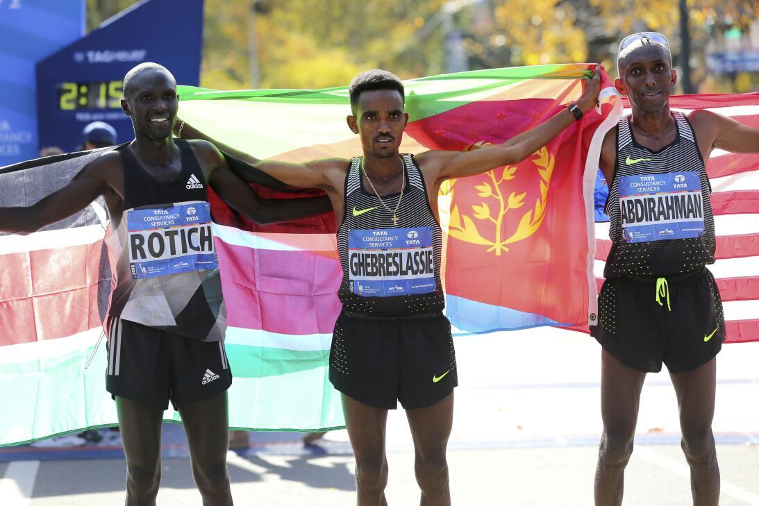 Maratón de Nueva York, entre el color y la competencia AP_16311648116894...