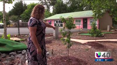Residentes de Siler City revitalizan zona pública