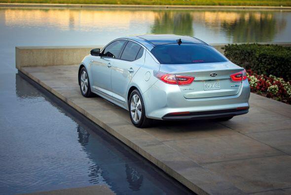 "Kia Optima Hybrid 2015- Precio: $25,990; Consumo (ciudad/carretera): 36""..."