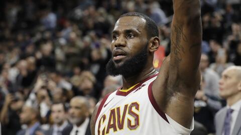 James es el séptimo mayor anotador en la historia de la NBA.