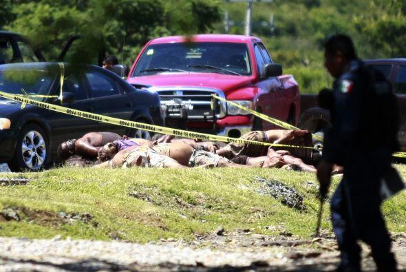 Sólo ocho de cada 100 delitos que se cometen en México son denunciados y...