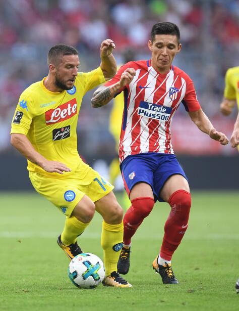 El argentino Matías Kranevitter no tiene espacio en el equipo de Diego S...