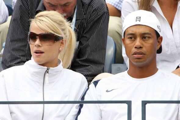 Tiger Woods y Elin Nordegren vivieron un escandaloso divorcio tras un si...