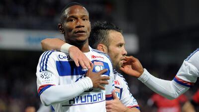 Lyon vuelve a la senda del triunfo ante Guingamp y Caen es líder en Francia