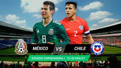 Revancha o no: el Tri juega algo más que un amistoso ante Chile