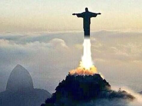 El Cristo mejor se va para otro lado. Todo sobre el Mundial de Brasil 2014.
