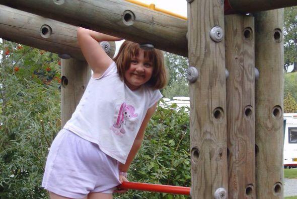 La complexión que tenía cuando era una niña la llevó directo a la anorex...