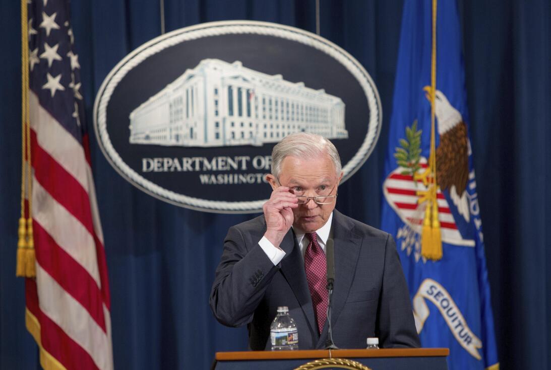 5 de septiembre de 2017 | El fiscal general, Jeff Sessions, anuncia la c...