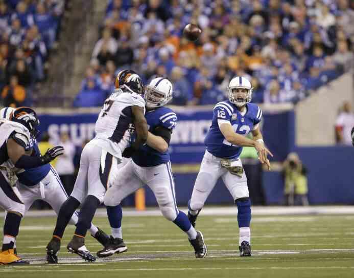 Los Indianapolis Colts le quitaron el invicto a los Denver Broncos luego...