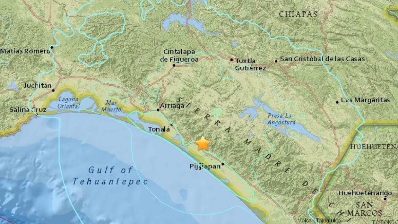 Un sismo de 6.4 grados sacude el sureste de México