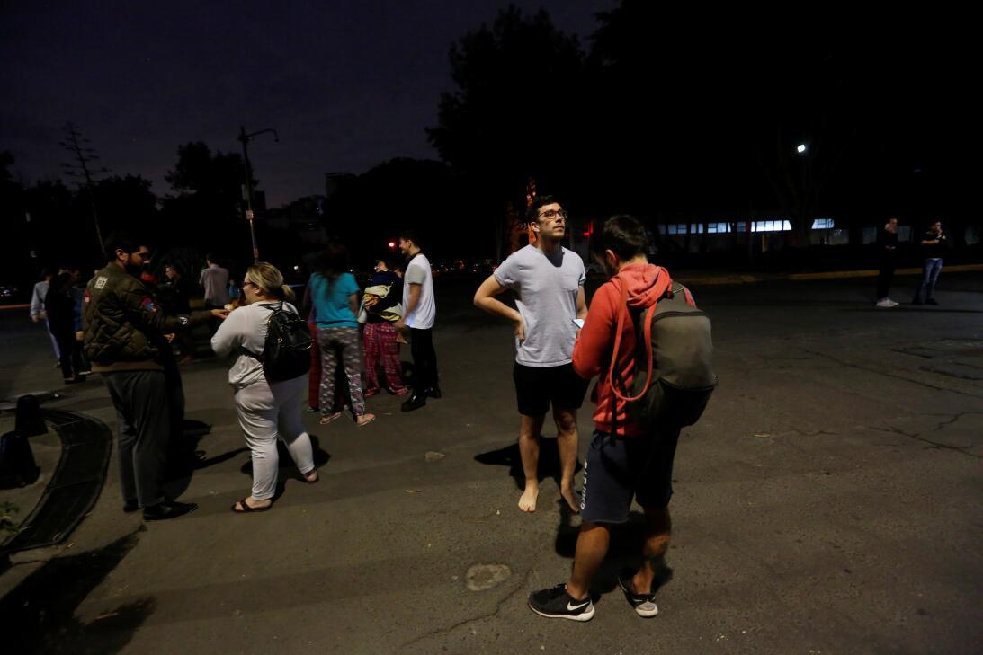 En Fotos: Fuerte terremoto en el sur de México de magnitud 8.2 se siente...