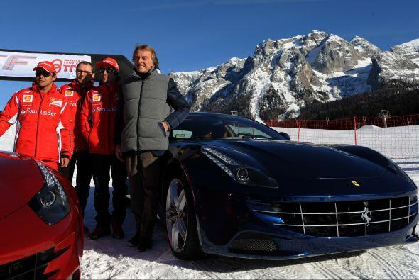 Después de los autos de Fiat vinieron los poderosos 'Cavallinos'.
