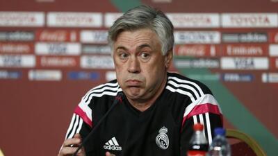 El técnico del Real Madrid no se preocupa por el bache del equipo blanco...