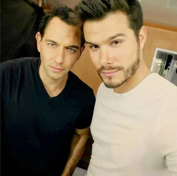 Brandon y Alejandro Peniche