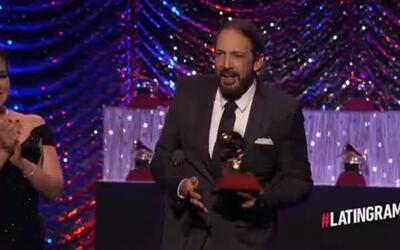 Juan Luis Guerra ganó el Latin GRAMMY por mejor Álbum Tropical Contempor...