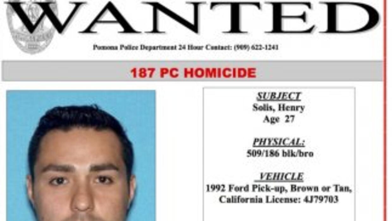 Henry Solís. (Departamento de policía de Los Ángeles)