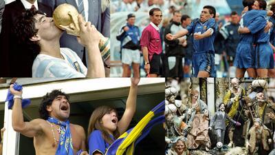 Los 56 años de Diego Maradona, entre la gloria y la controversia