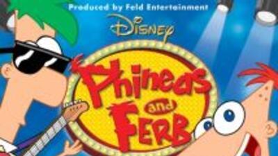 Phineas y Ferb estarán presentándose en Hidalgo, Texas.