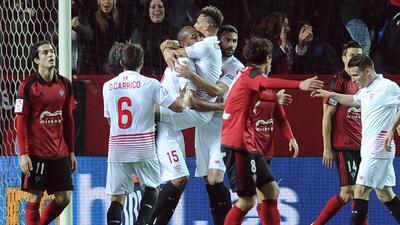 Sevilla superó al Mirandés en la Copa del Rey