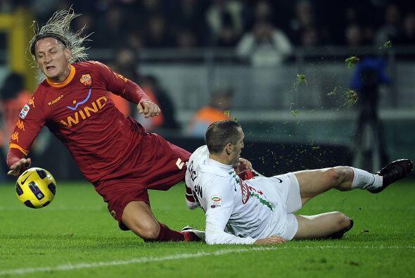 El clásico entre Juventus y Roma terminó en un empate a 1....
