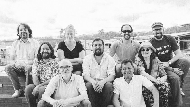 Los chefs participantes en Rainforest to table