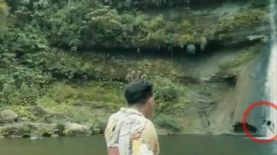 Muere al caer de una cascada y el momento queda grabado en un video musical