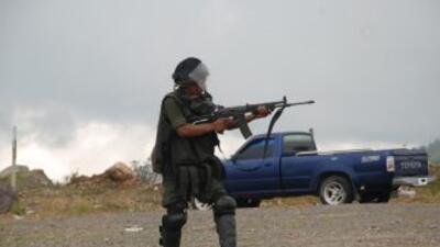 Las fuerzas de seguridad disolvieron con gases lacrimógenos una manifest...