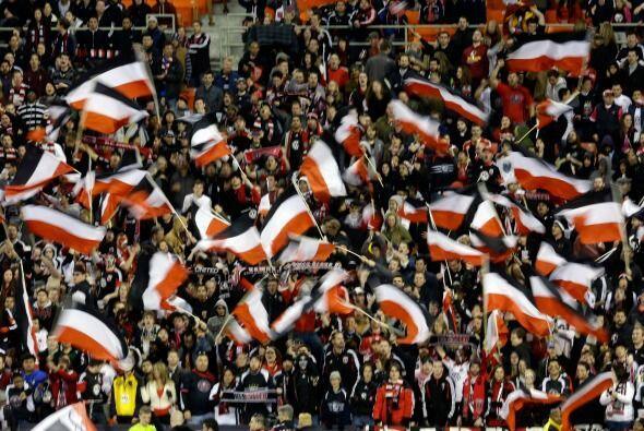 Barra Brava y La Norte  son las principales barras bravas de D.C. United...