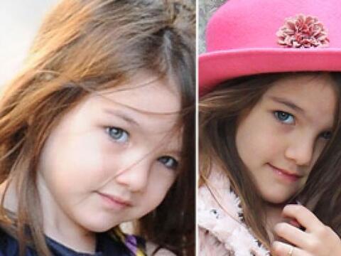 La hija de Katie Holmes y Tom Cruise cada día está m&aacut...