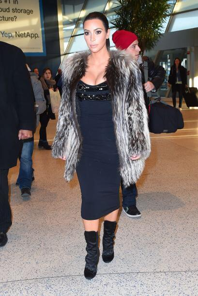 No cabe duda que el clan Kardashian es amante de las pieles. Si buscas f...