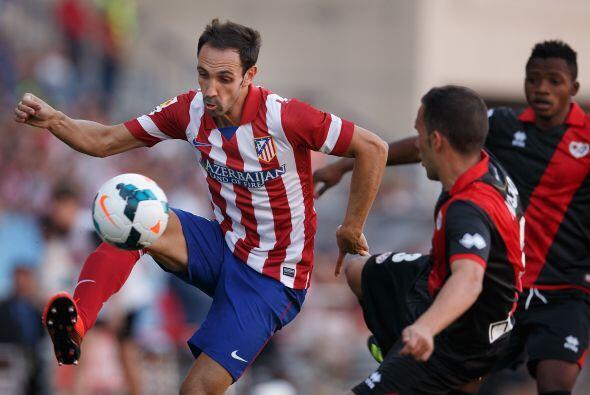 Contrario fue el resultado del Atlético de Madrid, el otro equipo que di...