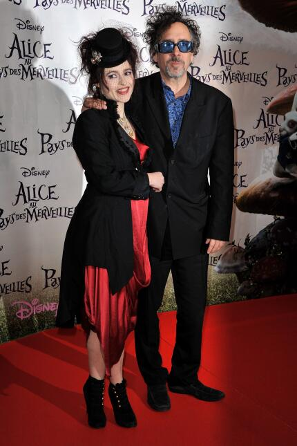 Helena Bonham Carter y Tim Burton formaron una de las parejas más estraf...