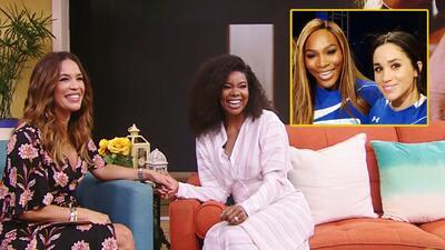 Gabrielle Union le platicó a Karla cómo comenzó su amistad con Serena Williams y Meghan Markle