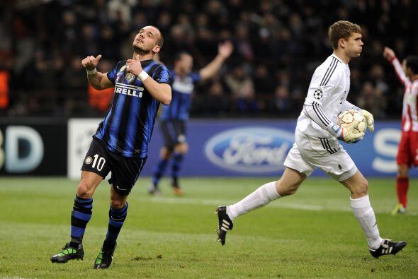 Mientras que el Inter comenzaba a desesperarse.
