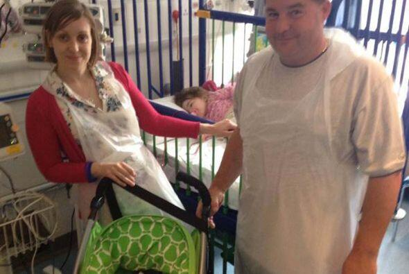 Los padres fueron sometidos a pruebas para realizar el trasplante pero e...