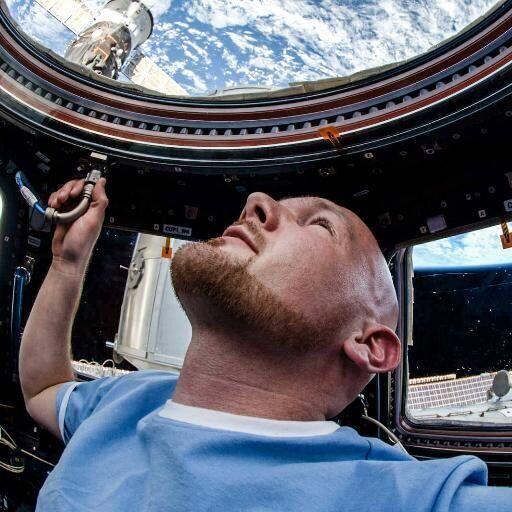 El ingeniero Alexander Gerst es parte de la Expedición 39/40.