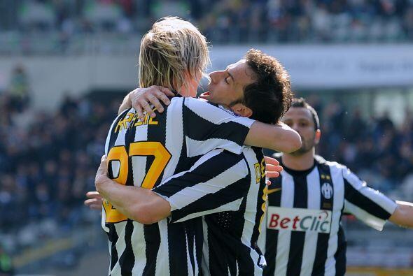 'Pinturicchio' consiguió el gol del triunfo ante el Brescia por 2-1 y tr...