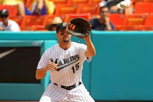 Mención especial: Gaby Sánchez, primera base de los Marlins de Florida....