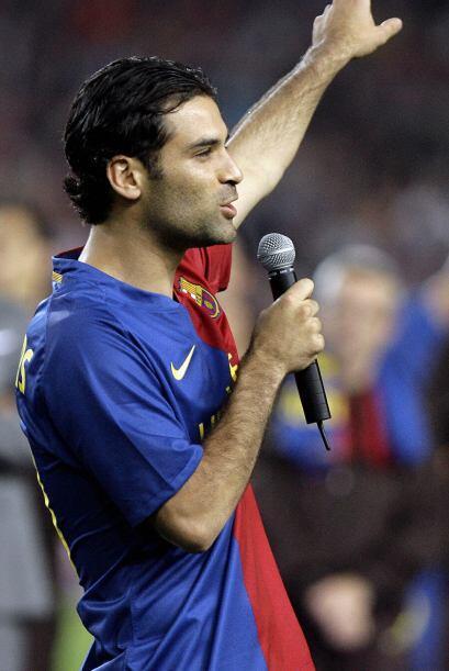 Y luego de 7 años se despidió de España con 12 títulos ganados.