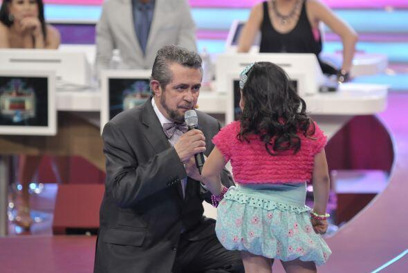 Y así ella decidió actuar a lado del Flaco Ibáñez.