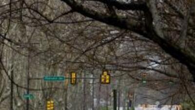 Lista de condados bajo alerta por inundaciones en el estado de Pensilvania.