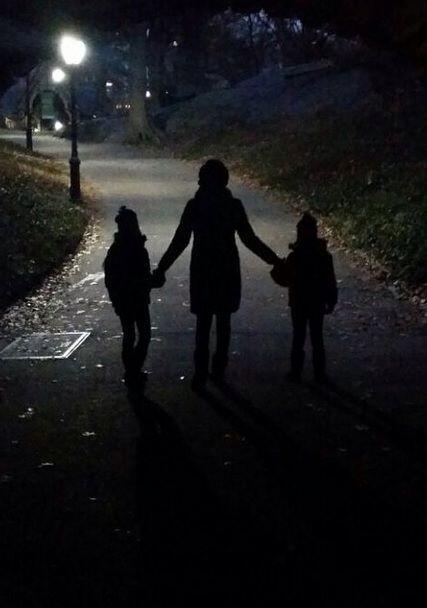 """""""Siempre hay una luz al final del camino... #mifamilia #miluz #mibendici..."""