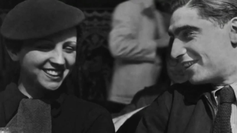 Gerda Taro and Robert Capa.